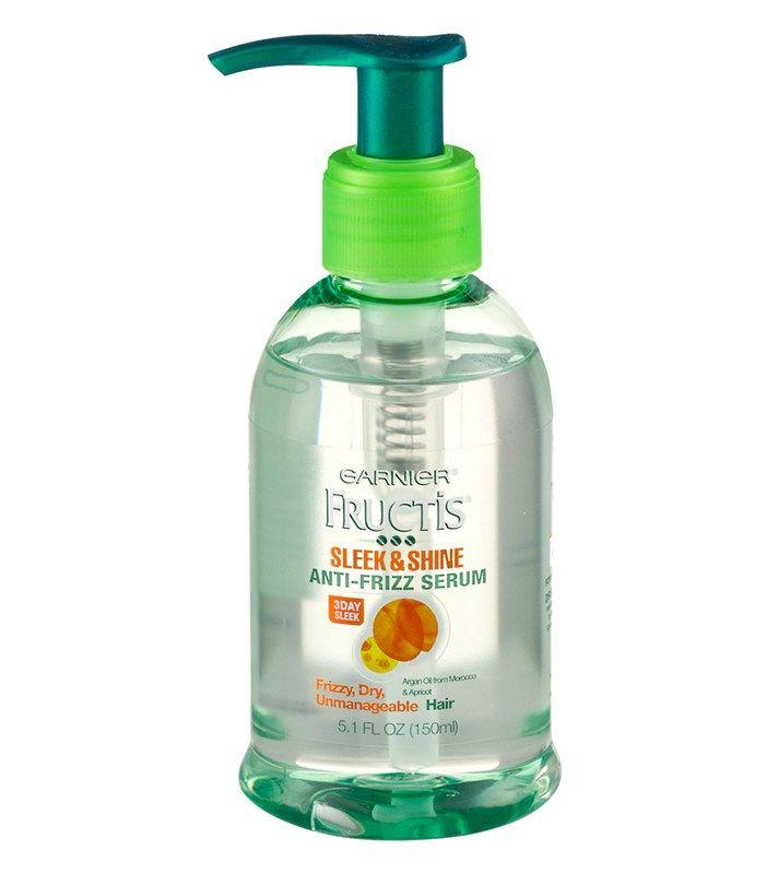 Best anti-frizz hair products-Garnier Sleek & Shine Anti-Frizz Serum