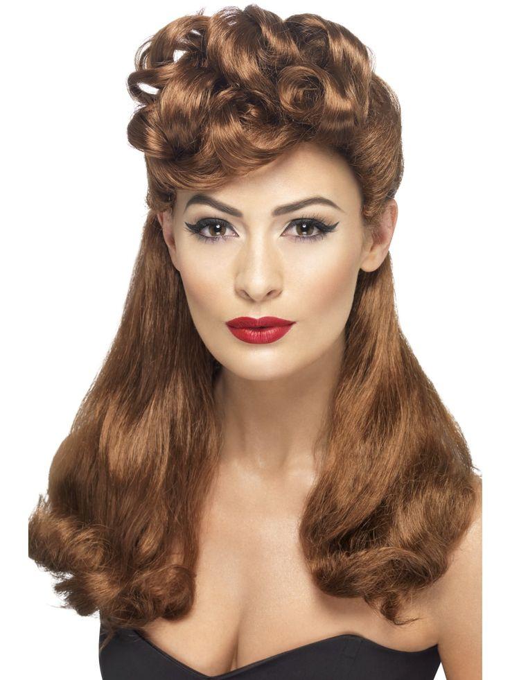 40-luvun peruukki, pitkä