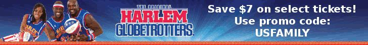 harlemglobetrotters are coming to Denver, save $7!
