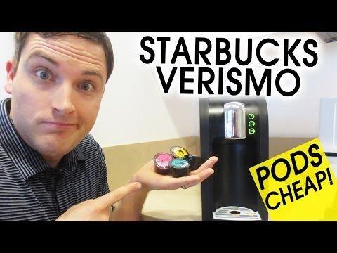 Verismo Pods Cheap! Do CBTL Pods Work in Starbucks Verismo? - YouTube