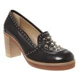 Leather Studded Heels