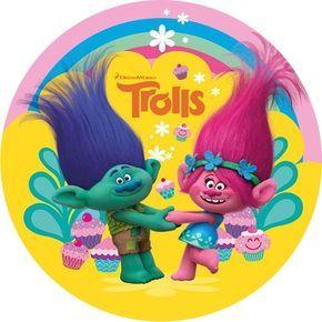 Trolls Edible Cake Image | Trolls Cake Topper | Trolls Party