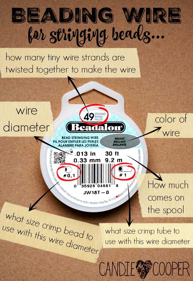What wire to use for jewelry making using Beadalon wire