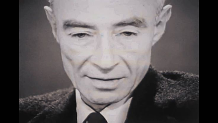 "On witnessing the first atomic explosion in recorded history, J. Robert Oppenheimer often referred to as ""The Father of the Atomic Bomb"" remarked, ""I am become Death, the destroyer of worlds."" Listen to his voice. The ""doctor"" feared his own ""Frankenstein."""