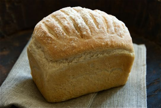 Farmhouse White Loaf recipe inspired by Richard Bertinet recipe and food photography by Madalene Bonvini-Hamel Food Fanatic and chef From the British Larder – The British Larder