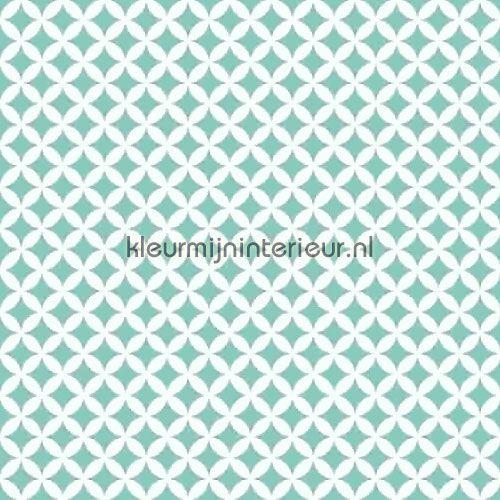 Retro turquoise plakfolie 13472 uit de collectie Gekkofix-collectie ontdek je bij kleurmijninterieur