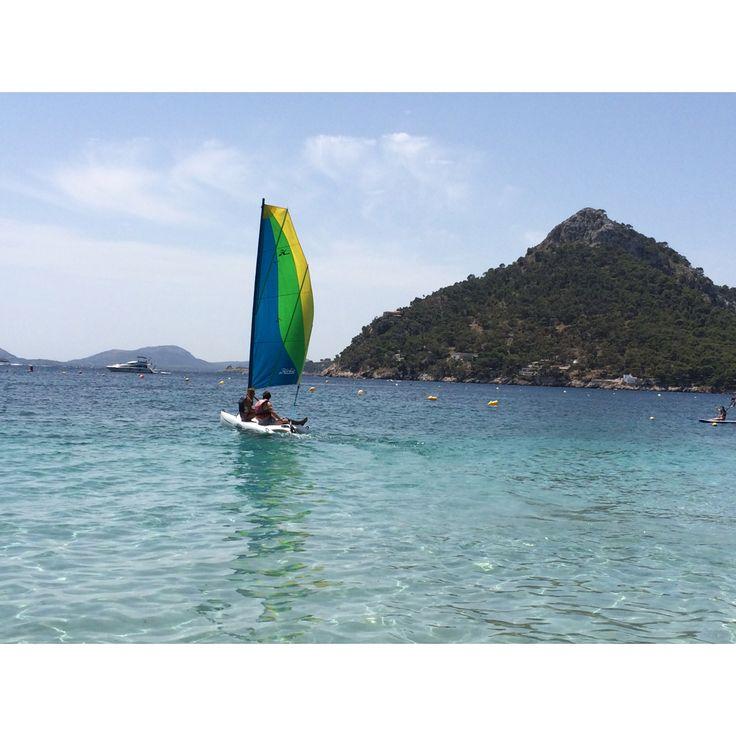 Sailing in Mallorca was perfect⚓️