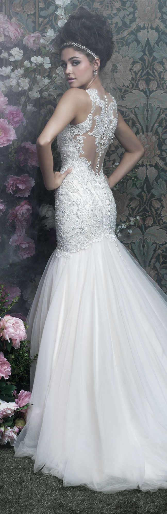 Wedding Dress by Allure Couture 2017 Bridal Collection | @allurebridals