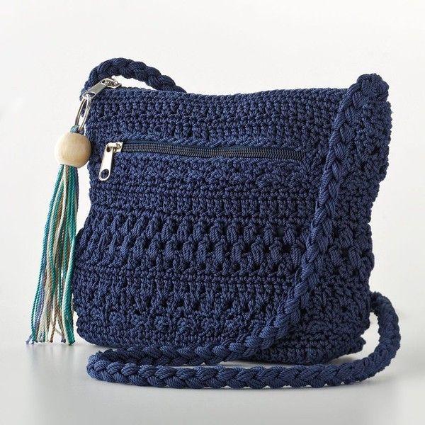 Awesome crochet cross body bag pattern