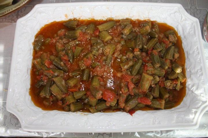 Bamiya okra afghan food pinterest okra afghans for Afghan cuisine menu