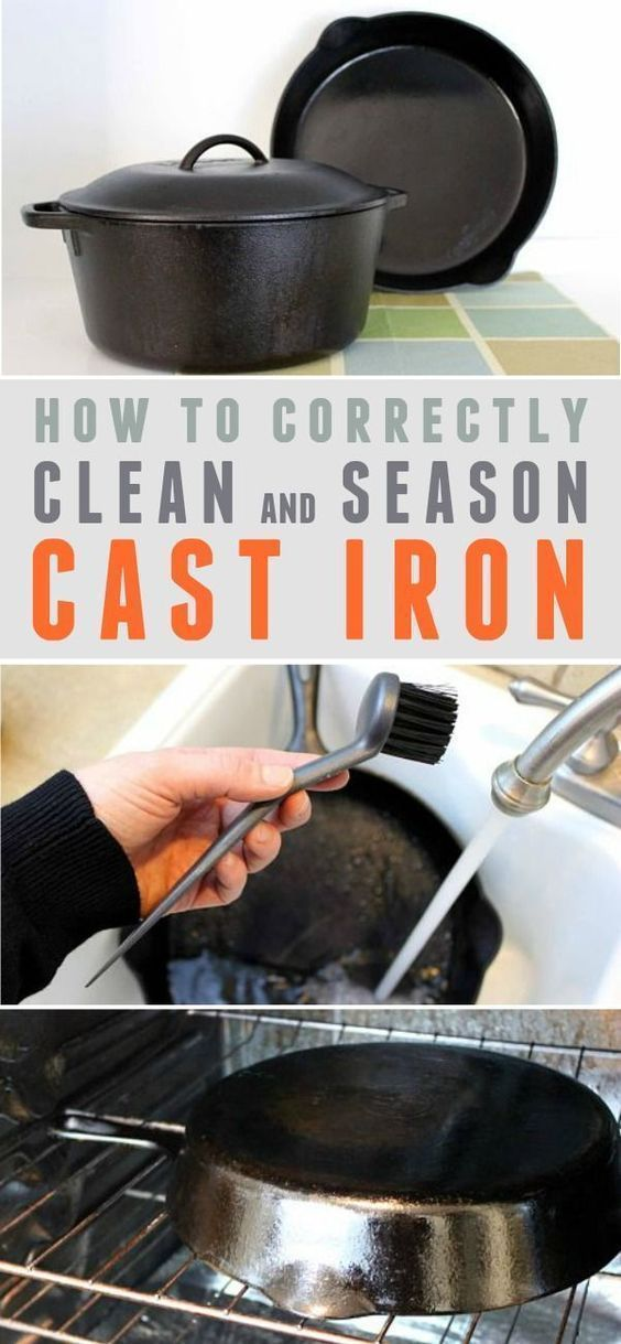 Cast iron is not fussy. Treat it right, and it will give you decades of dependable use.