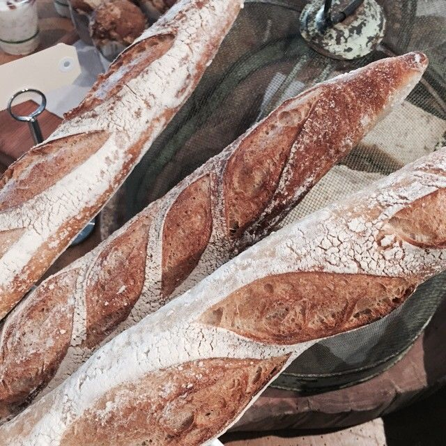 Grab a Baguettes or Organic Sourdough loaf today, from our local artisan bakery | Little Rae Berry