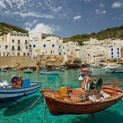 Cala Dogana, Levanzo, Sicilia