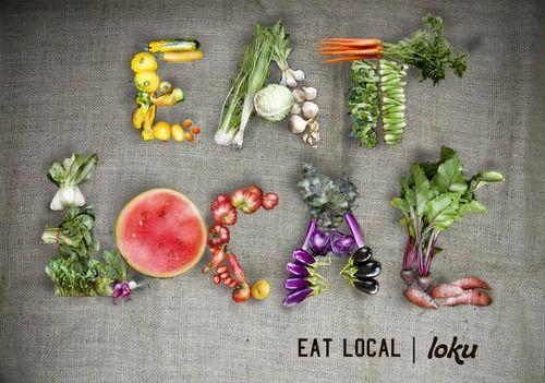Eat local!