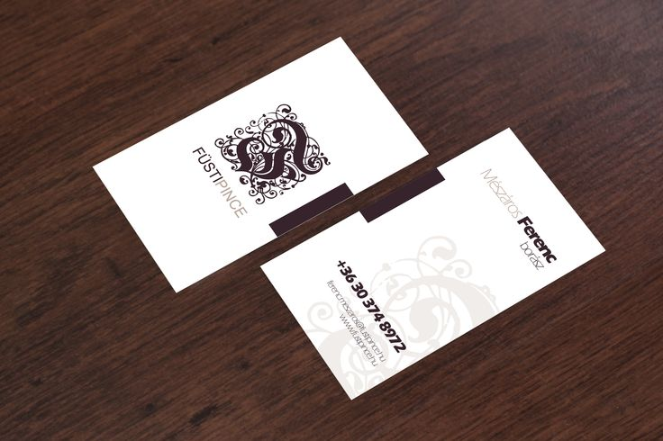 Nagy Anett webdesigner hallgatóm névjegykártyája a Füsti Pincének.