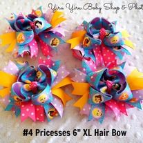 This extra large layers handmade Hair Bow is adorned attached with single prong clips prefect for infant to adult! *Perfect touch for any special occasion like birthdays, weddings, photography prop... *It is not just a hair bow, it can be attached on clothing, bag, as adding a splash of color o...