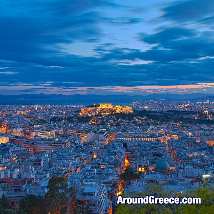 Athens at dusk  #Athens #Greece #Αθηνα #Ελλαδα #Acropolis #Parthenon #dusk #Travel #holidays #vacations #tours #Cities #Αθήνα #Ελλάδα #Διακοπες #Ταξιδι #AroundGreece #VisitGreece