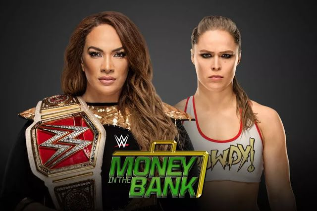 STRENGTH FIGHTER™: Nia Jax vs Ronda Rousey: WWE Money In The Bank 201...