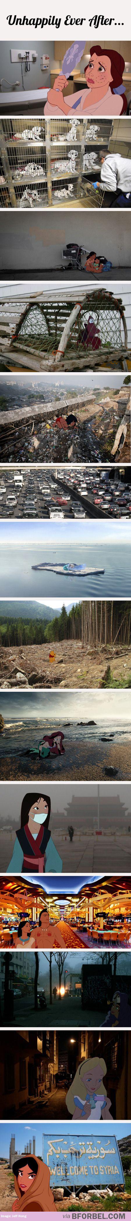 Luttons contre la pollution !!! C'est vraiment triste