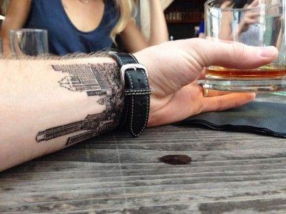 Resultado de imagen para tattoo arquitectura