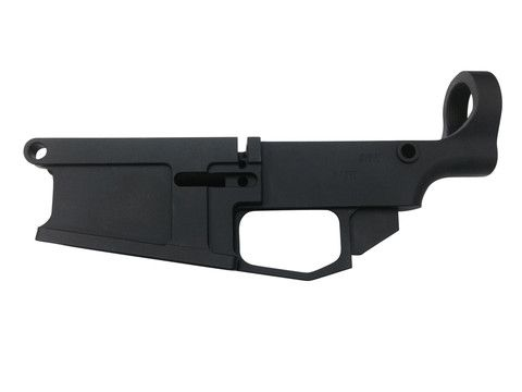 Black Anodized Billet .308 80% Lower Receiver