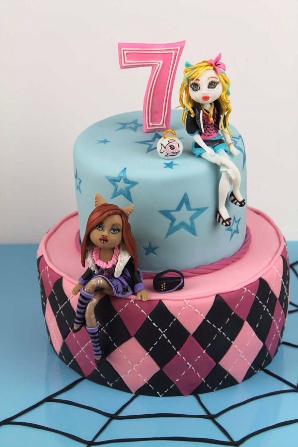 Monster High Cakes | This Marvelous Monster High cake was made by Tortenherz . It features ...