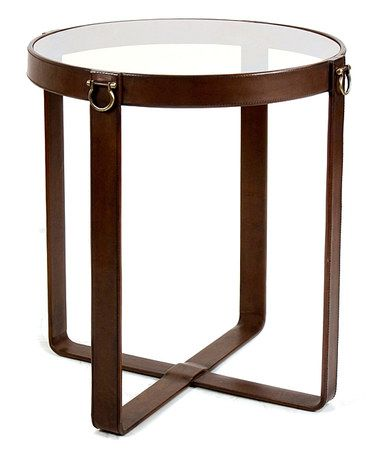 Take a look at this Leather Belts Table on zulily today!