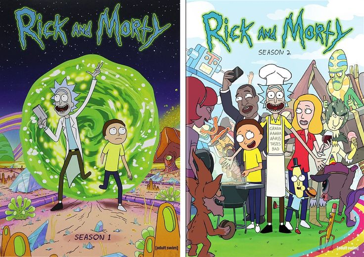 Rick and Morty - SEASON 1-2 The Complete Seasons One & Two ( 2016, 4-DVD Complete Set Seasons 1-2 ) BRAND NEW & FACTORY SEALED All 2 Complete Seasons!... #season #disks #series #complete #morty #rick