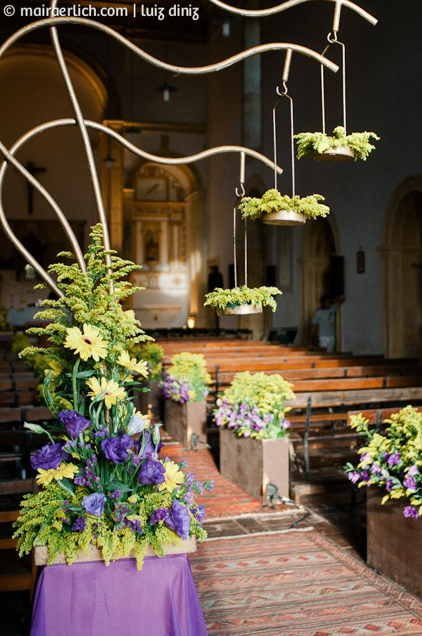 Arranjos suspensos | Hanging flower arrangements