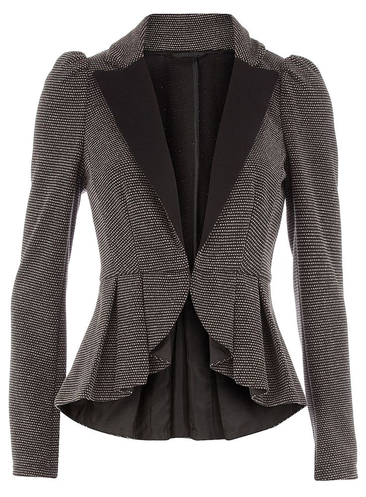 Another peplum or fit & flare blazer                              …                                                                                                                                                                                 More