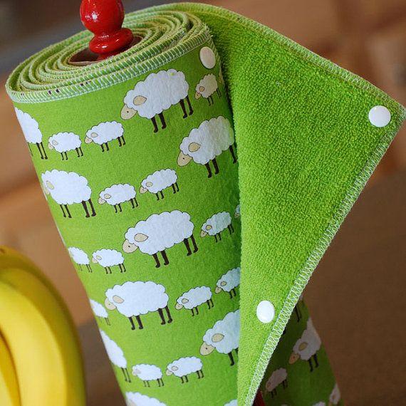 Custom Tree Saver Towels Reusable EcoFriendly by mamamade