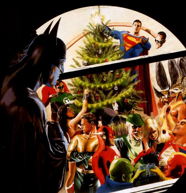 Alex ross, Christmas parties and The justice on Pinterest
