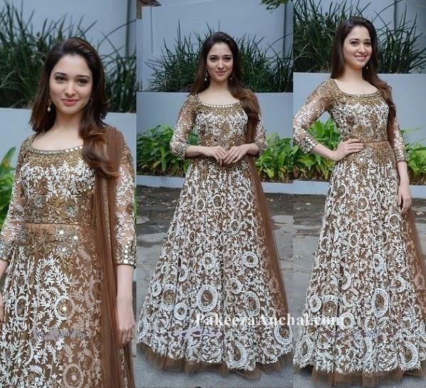 Tammaana Bhatia In A Beautiful Embroidered Anarkali
