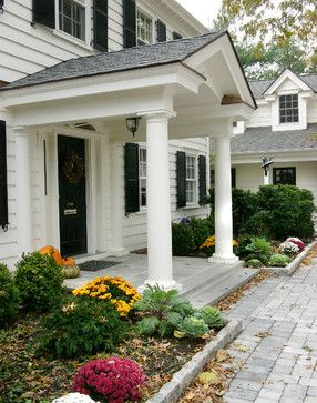 Front porch side view - traditional - entry - philadelphia - by Lasley Brahaney Architecture + Construction