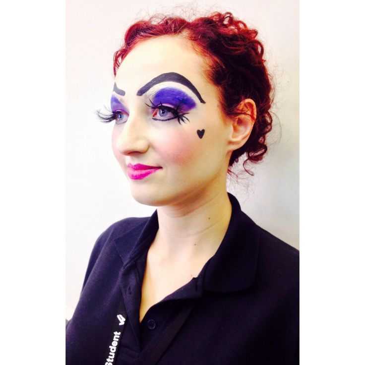 Media Makeup College Pantomime Dame By Me In 2019