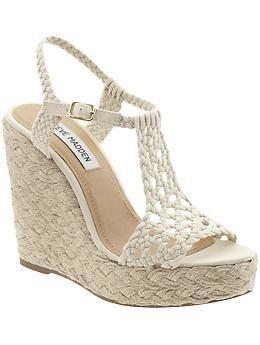 Steve Madden: High Wedges, Fashion, Wedges Heels, Style, Wedges Espadril, Madden Manngo, Summer Shoes, Steve Madden, Wedges Sandals