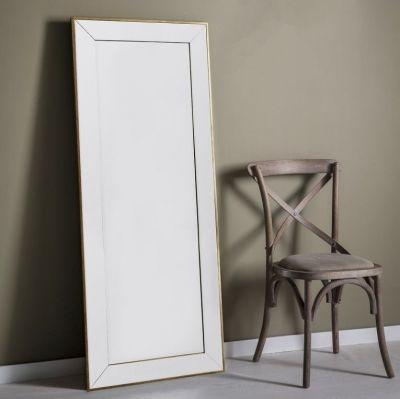 Gallery Direct Banks Mirror - H 15.4cm #Mirror #AssembledMirror #RectangularMirror Dimensions:W 167.5cm x D 3.5cm x H 81cm Type:Hanging Assembly:Assembled Shape:Rectangular