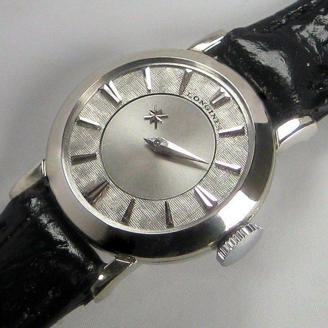 Ladies 1958 Longines MYSTERY Dial 14KT SOLID GOLD Original Vintage Swiss Watch  | eBay