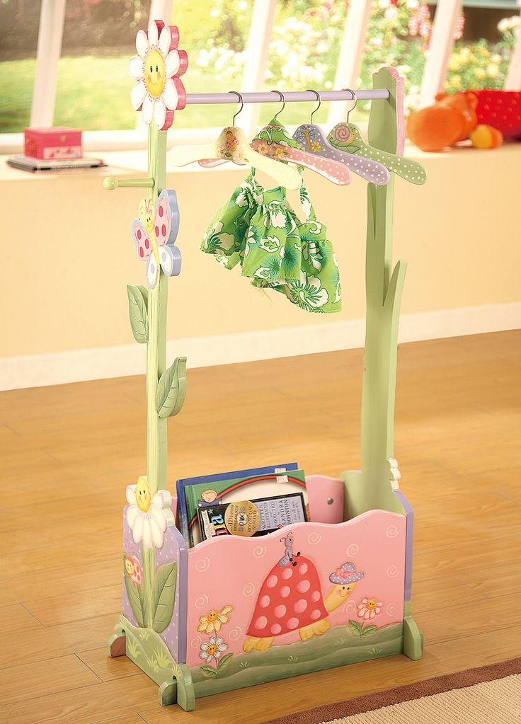 Teamson Kids Furniture - Magic Garden Clothing Rack