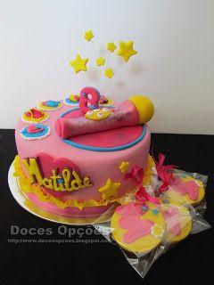 Doces Opções: Soy Luna no aniversário da Matilde