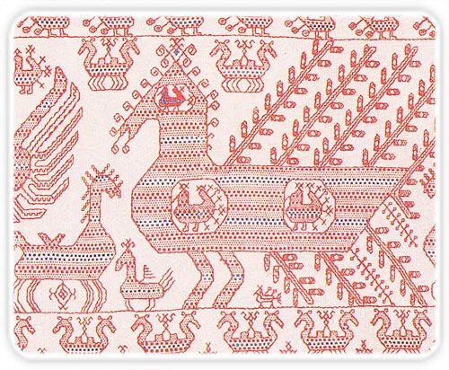 Орловский спис - вышивка оберег ( картинки)