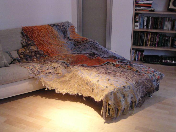 Яга покрывало. Изготовлено из Яга ткани ручной работы.