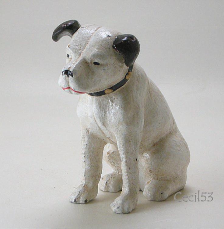 Rca nipper dog cast iron bank - 117 Best Cast Iron Beauty Images On Pinterest French Bulldog