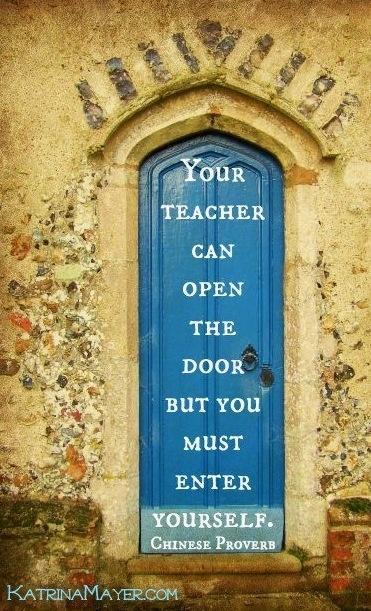 Teacher quote via www.KatrinaMayer.com
