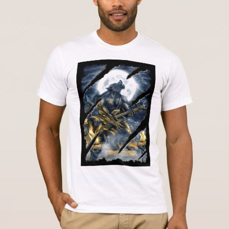 Heavy metal werewolf T-Shirt - click to get yours right now!