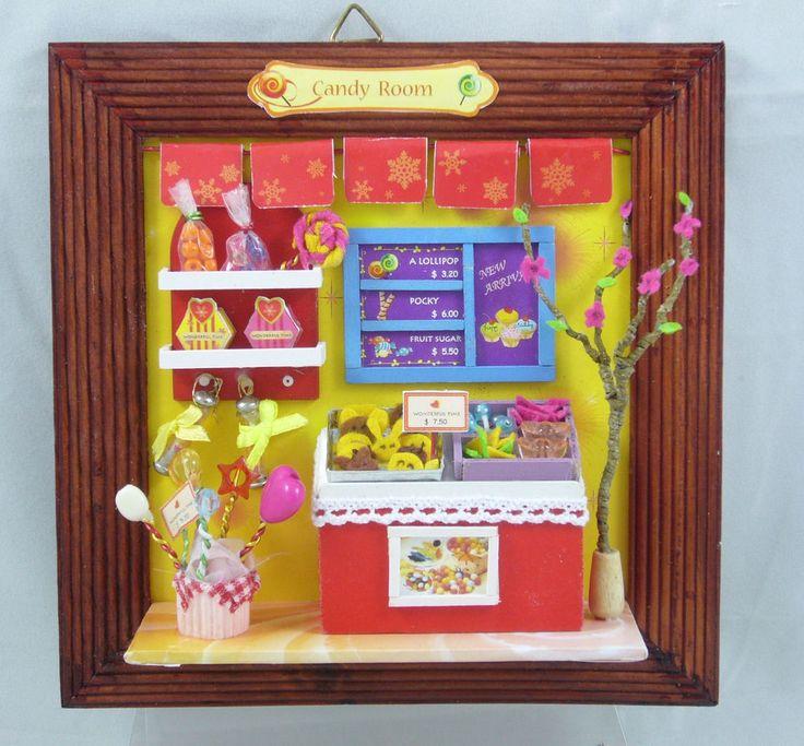 Mejores 7 imágenes de Miniature Frames en Pinterest | Casas de ...