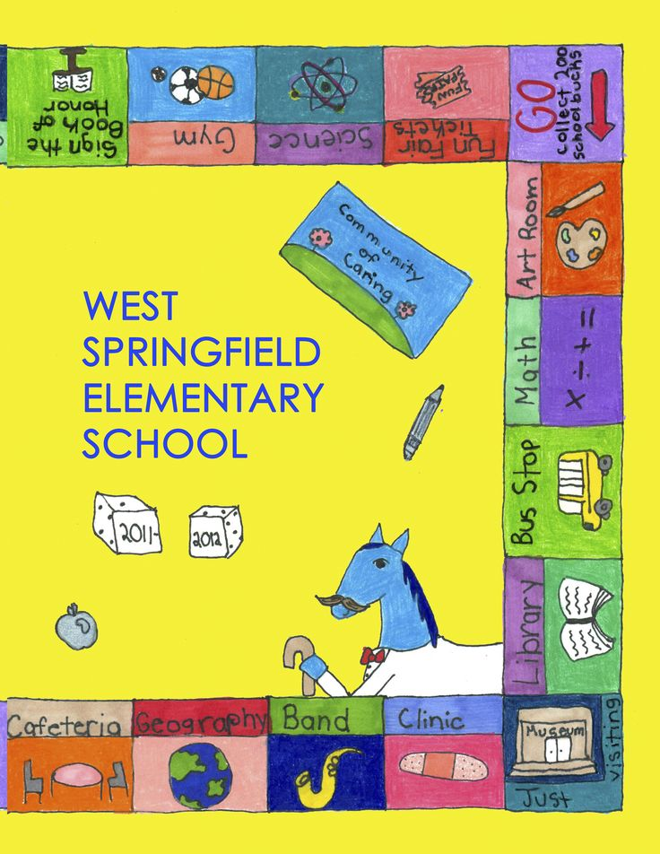 School Yearbook Cover Ideas : Elementary school yearbook cover ideas google search