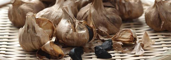 I bought some Black Garlic and it is so yummy!  Not anything like regular garlic.  Spread it on bread or use it in pasta!