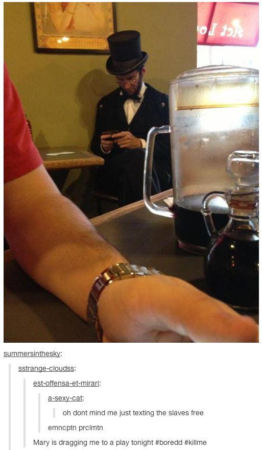 Lincoln makes history: