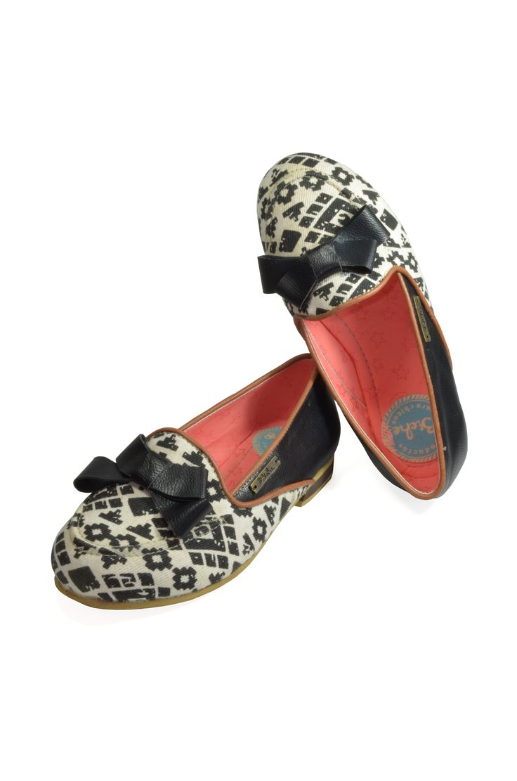 REF: Zapatos baletas Tulip tribal